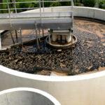 reaktor SBR oczyszczalni ścieków przemysłowych.